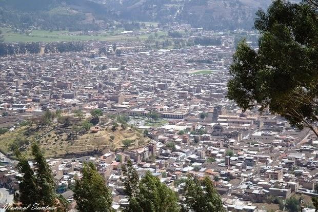 Cajamarca, mirador sulla città