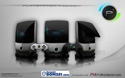 Reka Bentuk Konsep Sony Playstation 4