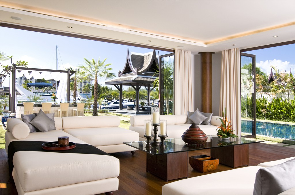 World of architecture amazing villa design with private for Decoration villa de luxe