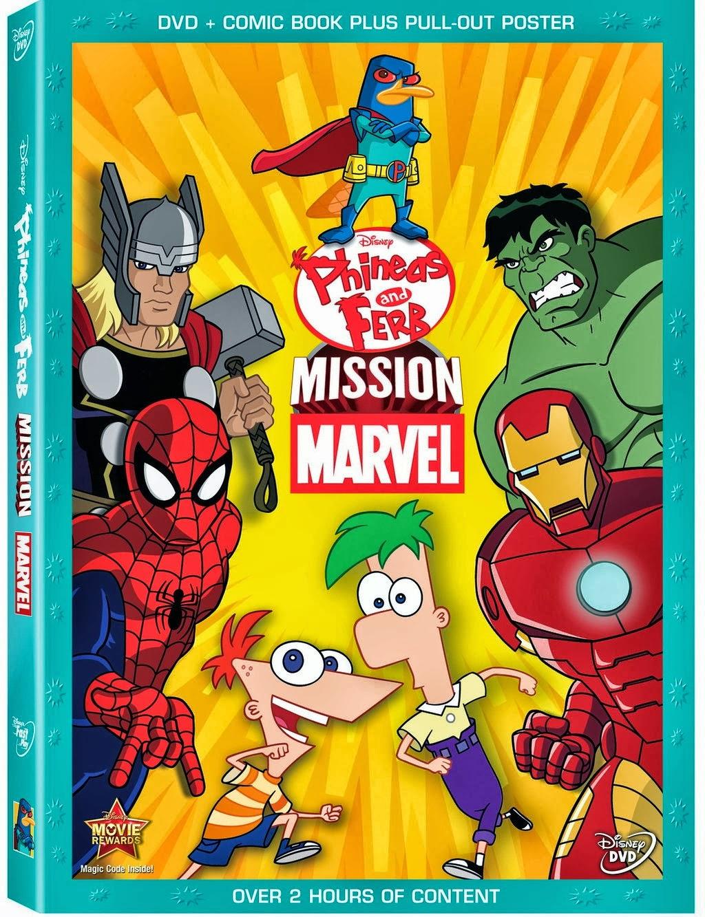 phineas y ferb mision marvel 2013 espanol latino dvdrip Phineas y Ferb: Misión Marvel (2013) Español Latino DVDRip