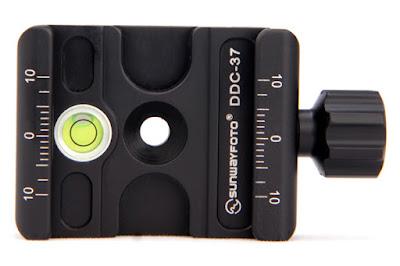 Sunwayfoto DDC-37 QR Clamp Topview