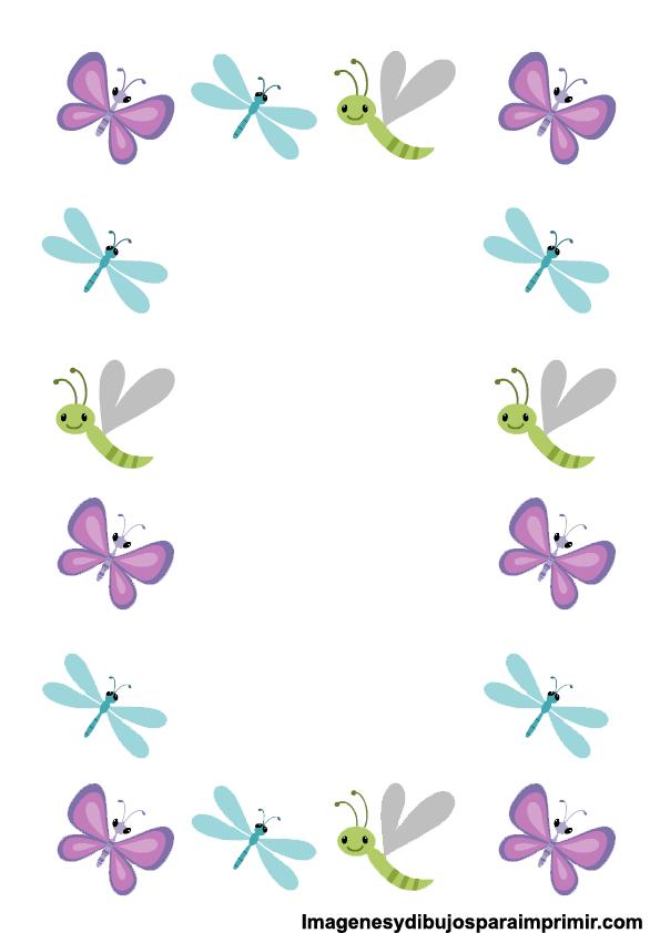 Imagenes de bordes de hojas imagenes y dibujos para imprimir for Adornos para paginas