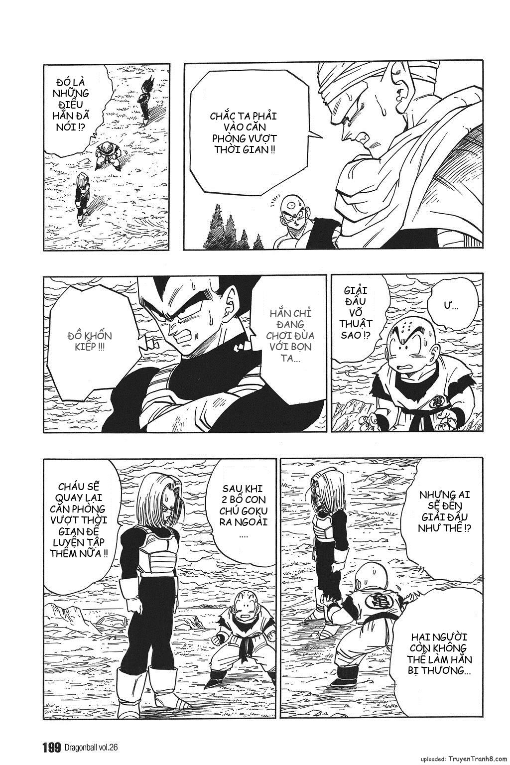 xem truyen moi - Dragon Ball Bản Vip - Bản Đẹp Nguyên Gốc Chap 388