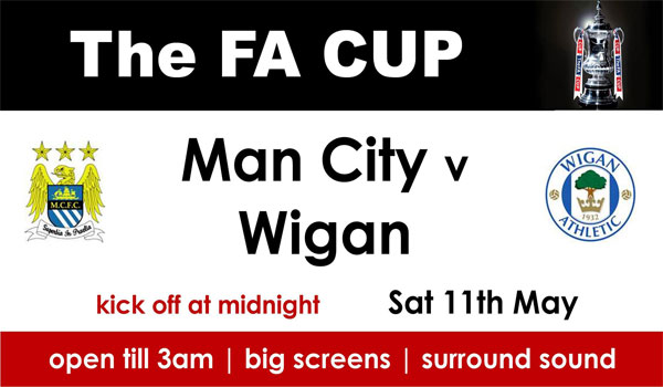 Keputusan Manchester City vs Wigan Athletic 12 Mei 2013 - Final FA Cup
