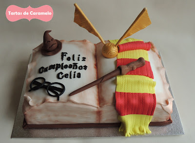 Tarta de Harry Potter