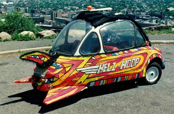 Heli_hoop art car title=