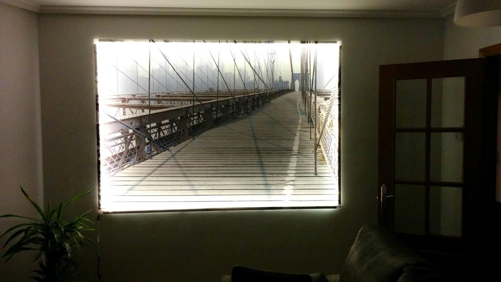 Cosas de cosas retroilumina tu cuadro de ikea con luces led - Cosas de ikea ...