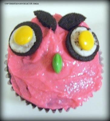 simple cupcake decoration