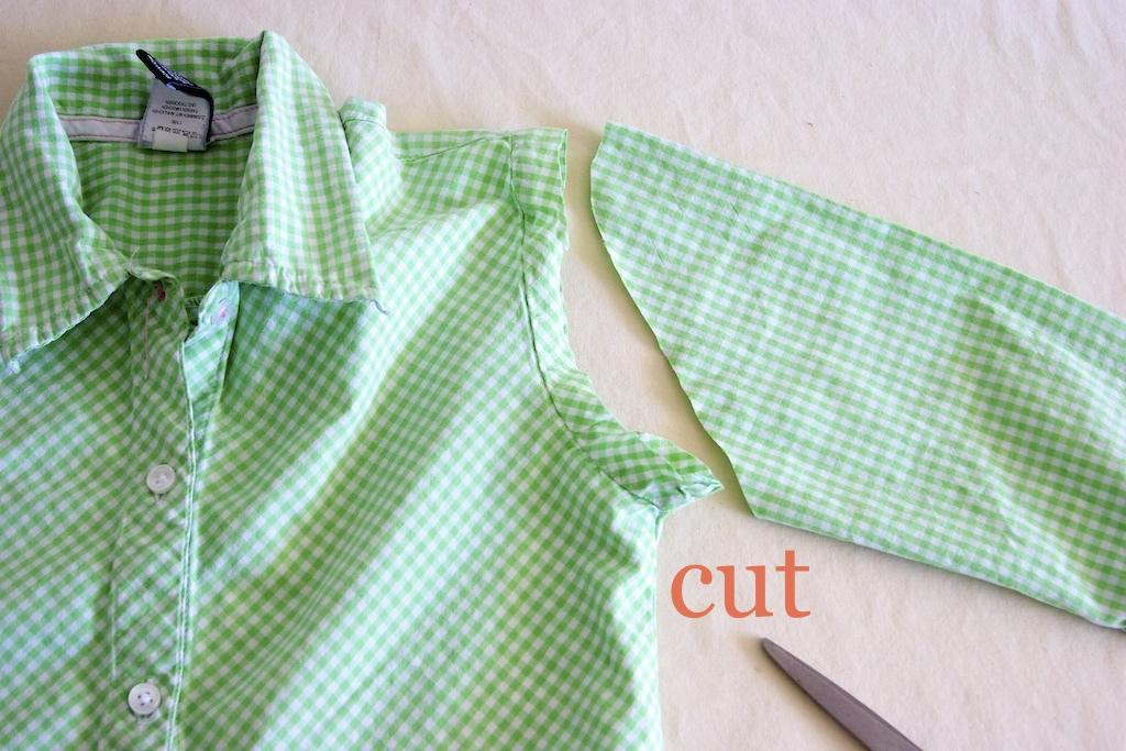 Детская рубашка своими руками 70