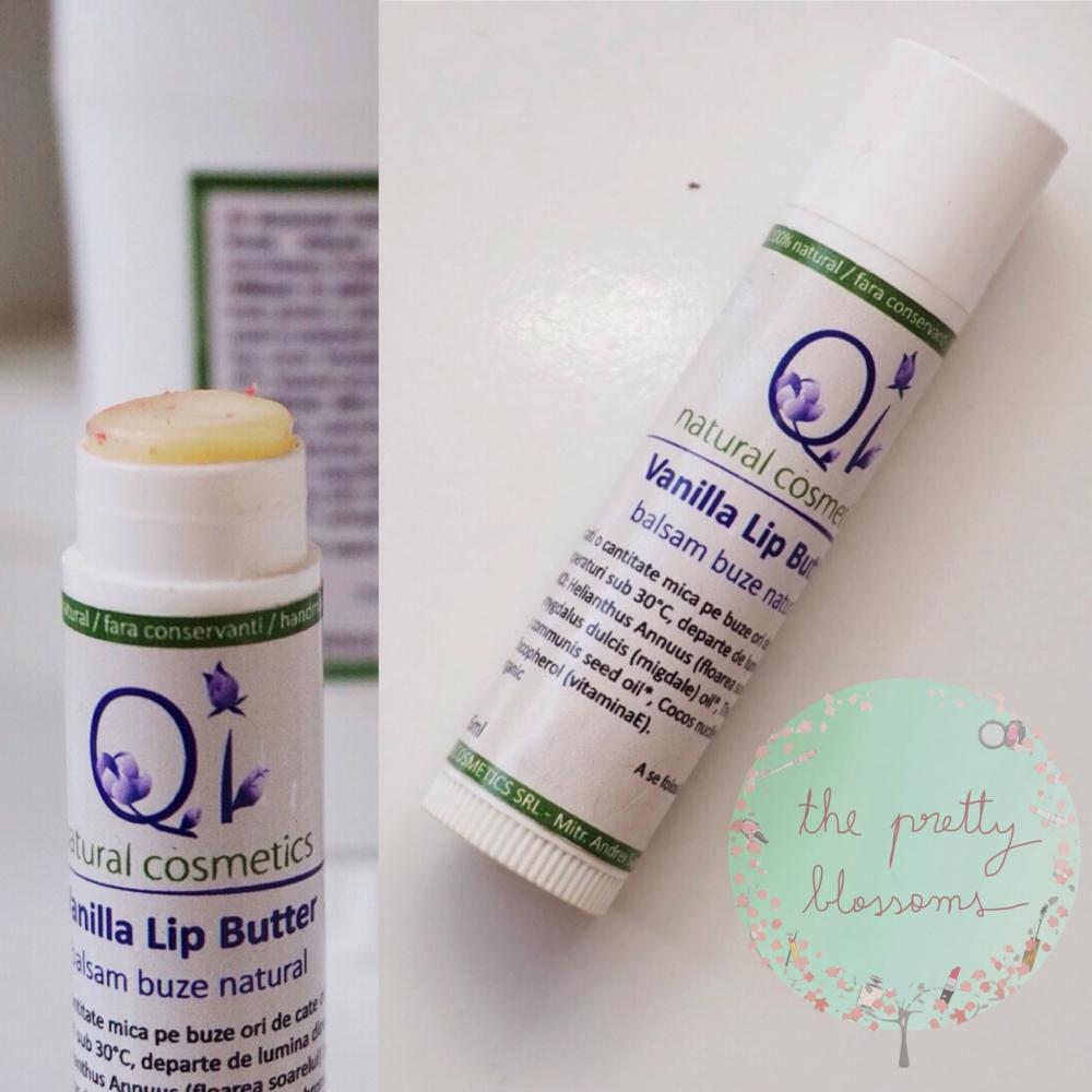 Balsam de buze cu vanilie - organic romanesc