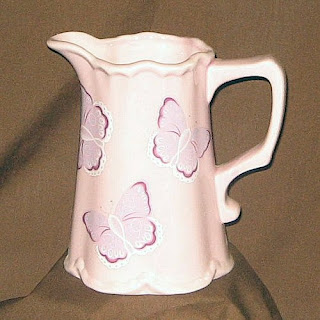 Buy a Ceramic Butterfly Pitcher