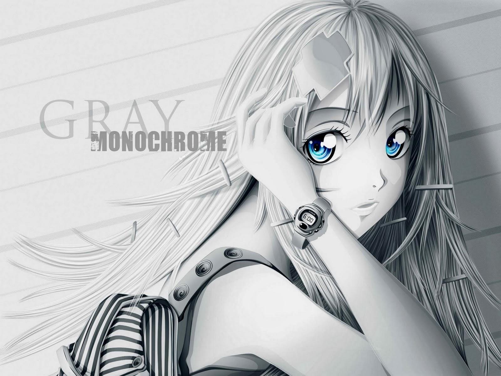 anime manga in gray yang lucu dan cantik   animasi korea