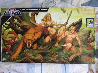 Marvel Legends Universe SDCC Limited Edition The Savage Land pack X-men Ka-zar Shanna Zabu Prehistoric Mutants Mutations