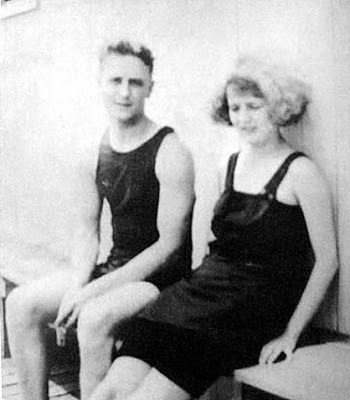 Zelda and F Scott Fitzgerald Take Rest