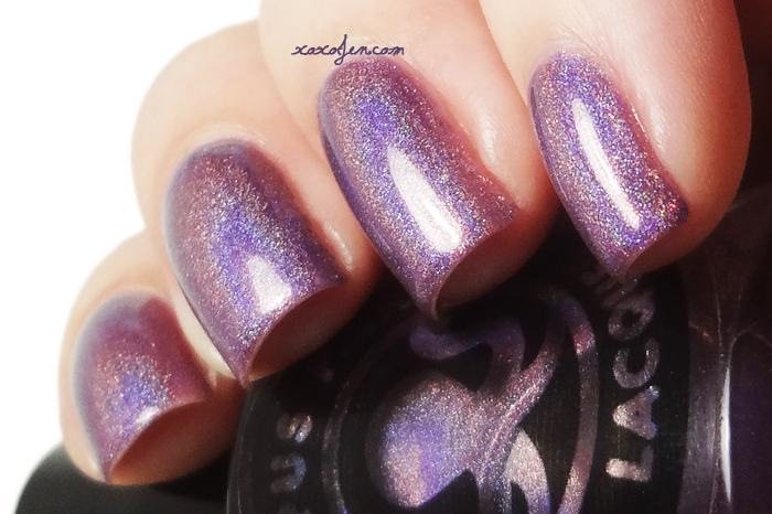 xoxoJen's swatch of Octopus Party Nail Lacquer: Teenage Bedroom