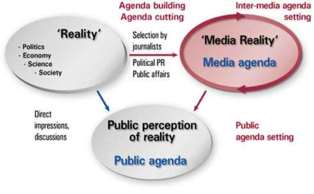 the media influences the publics perception of reality essay The relationships between mass media, public opinion, and foreign  we recognize that the mass media consist of  concept we term the elasticity of reality).