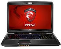 MSI GT70 0NC gaming laptop