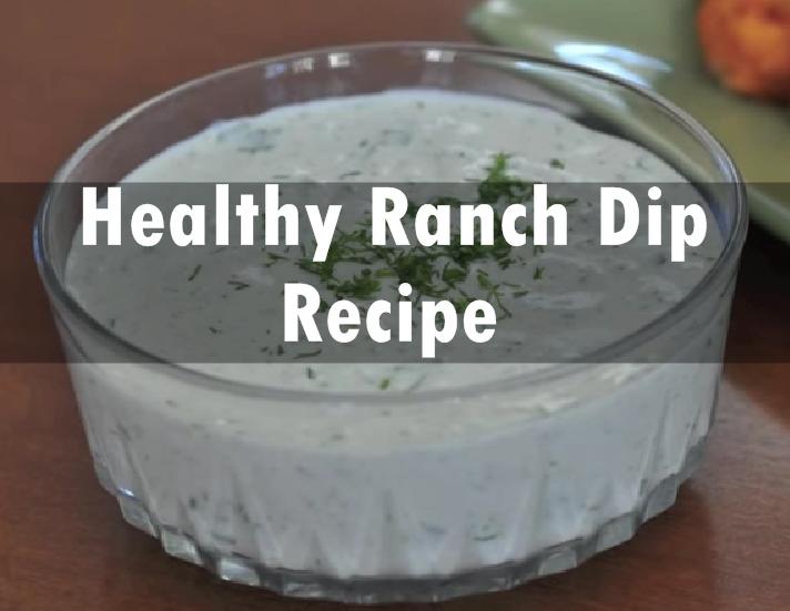Ranch Dip Recipe