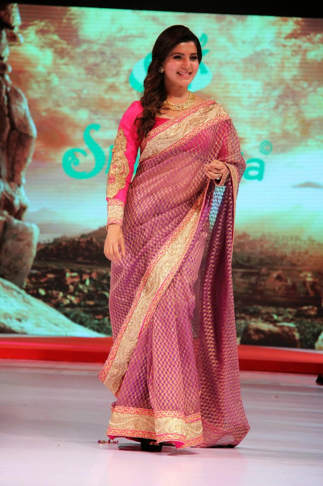 Samantha gorgeous photos in saree-HQ-Photo-20