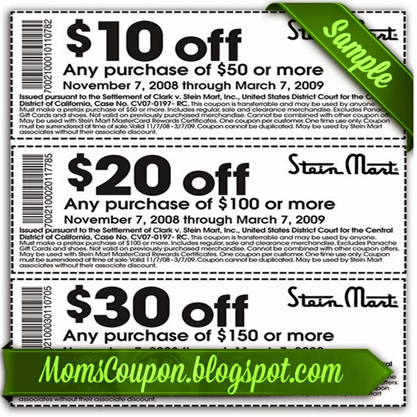 Stein mart coupon code