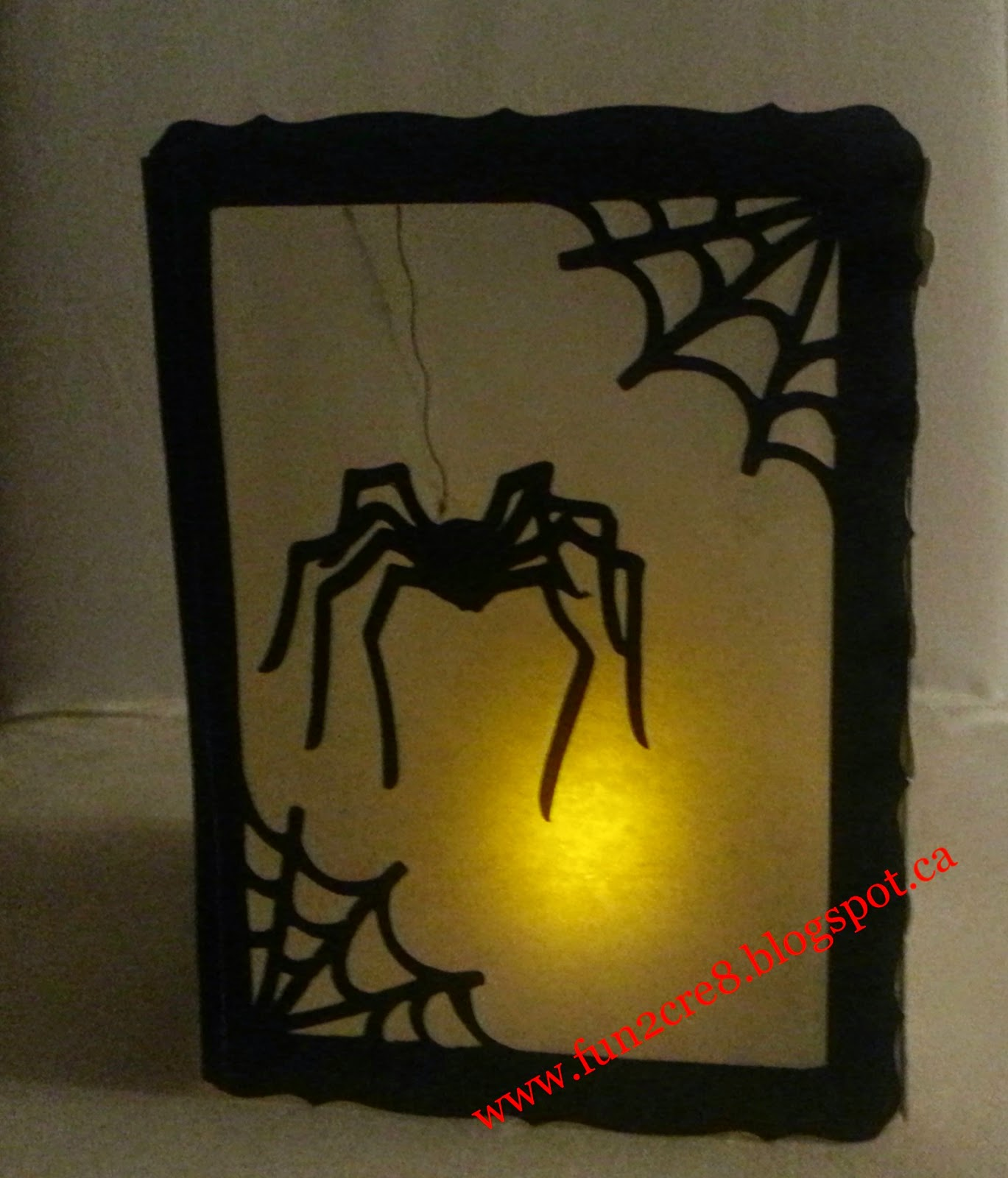 CTMH Spooky Halloween Luminary with Artbooking