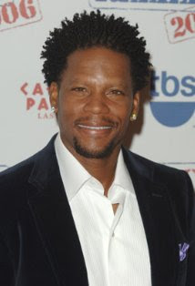 D.L. Hughley follows Geno's World on Twitter