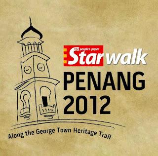 Starwalk 2012, Berjalan Pulau Pinang, the Star