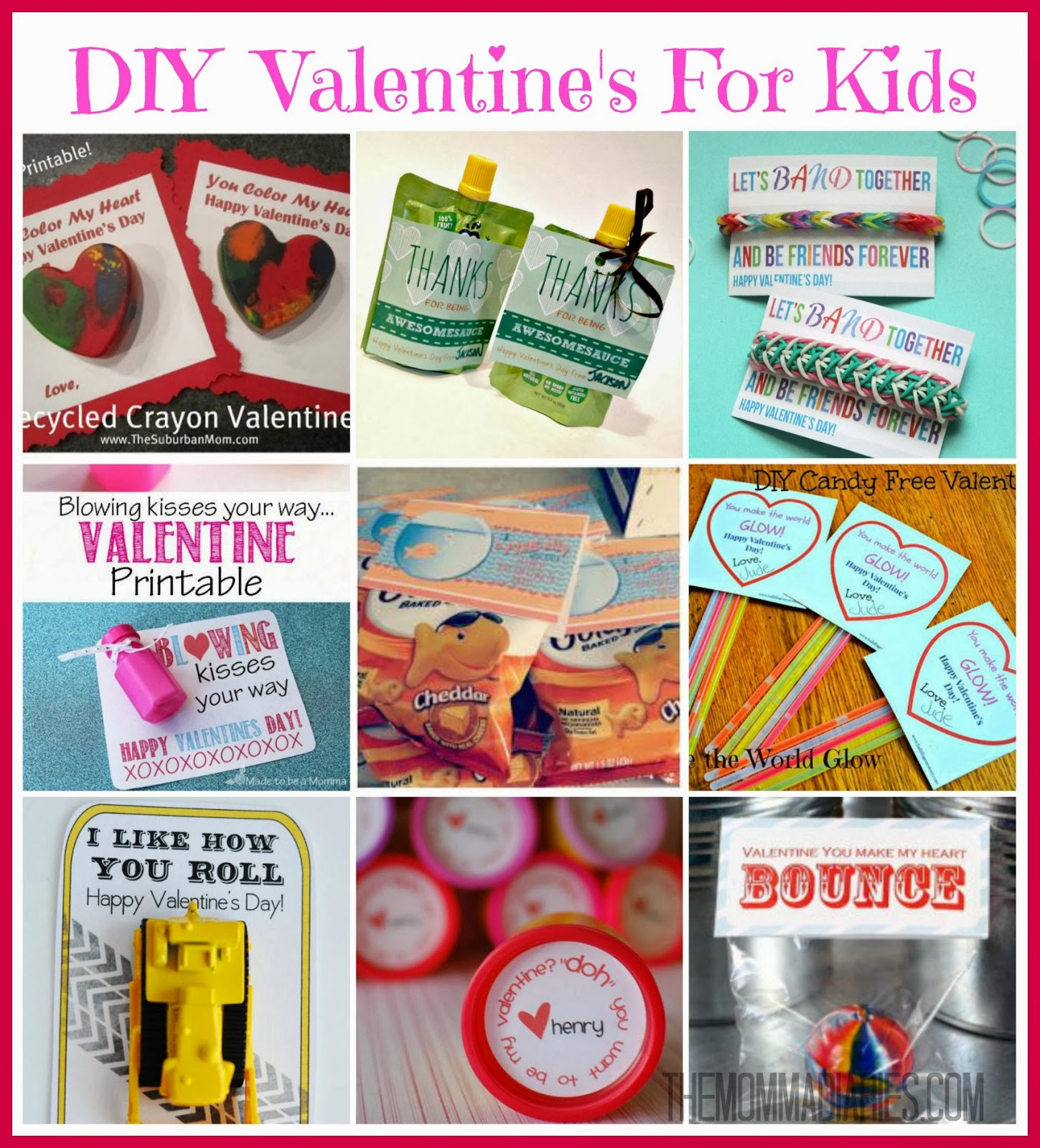 #DIY #Valentines For #Kids