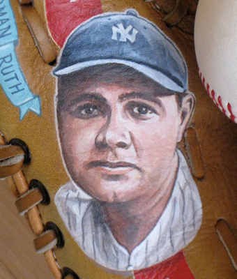 Babe Ruth Portrait by Sean Kane
