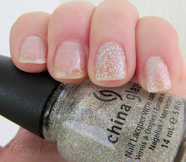 Okay China Glaze Fairy 4EUR Dust Has Micro Glitter And It Applies Sparsely On The Nails Even With Two Layers Of Polish Still Looked Very Gentle