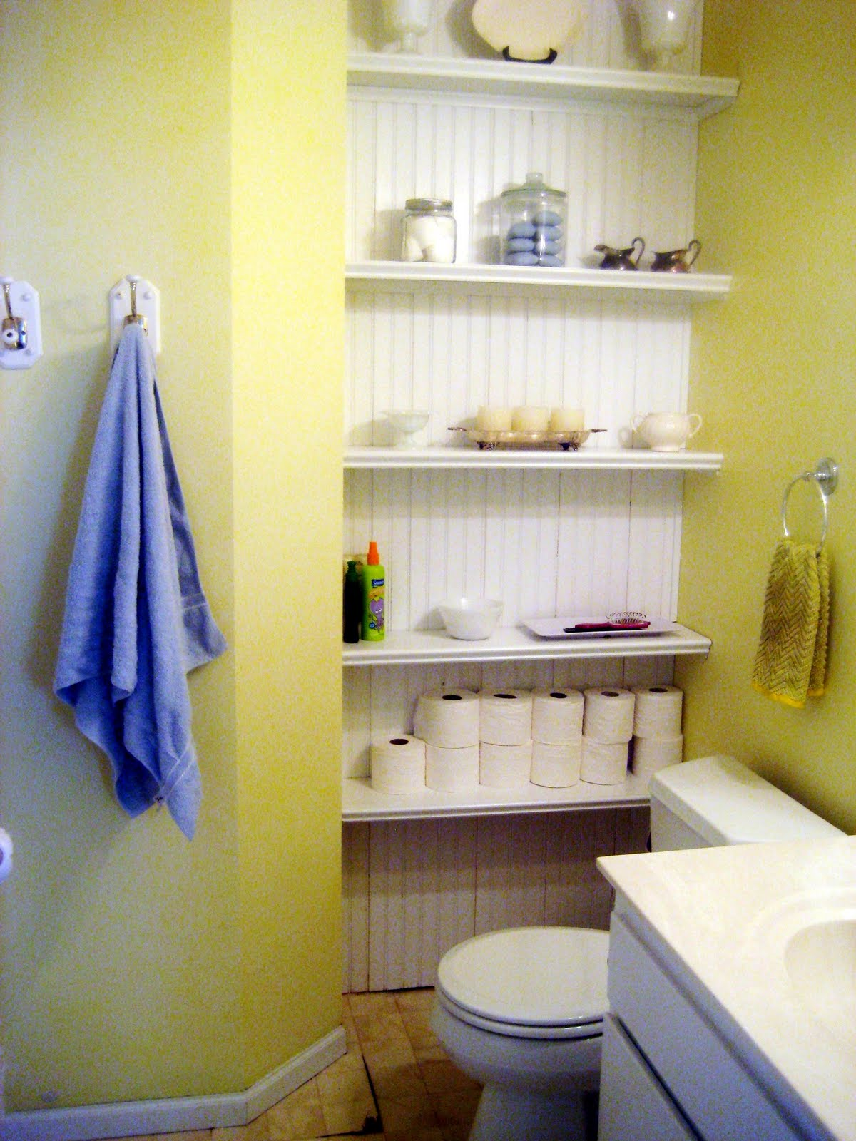 Happy At Home: Bathroom Makeover Reveal