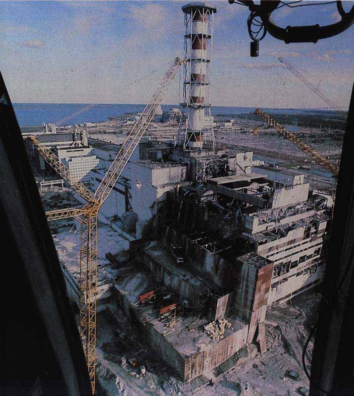the chernobyl disaster On 26 april 1986, explosions at reactor number four of the nuclear power plant at chernobyl in ukraine, a republic of the former soviet union at that time, led to huge releases of radioactive materials into the atmosphere these materials were deposited mainly over countries in europe, but.