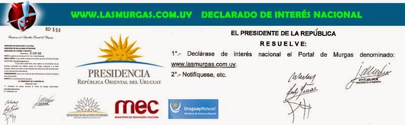 Sitio Web Declarado de Interés Nacional