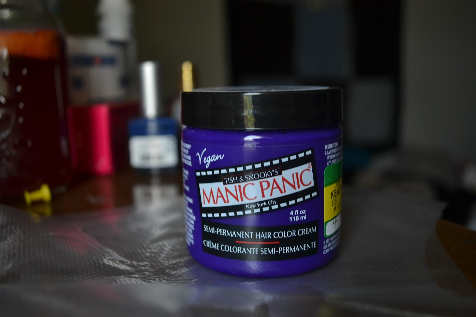 Put Your Make Up On Manic Panic Semi Permanent Reviewapplication