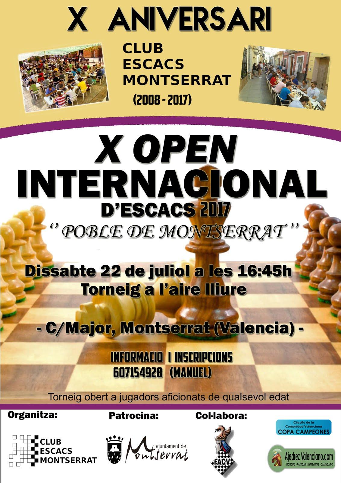 X Open Club Montserrat
