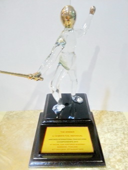 Air Force 2015 Trophy ( Foil U-14 )
