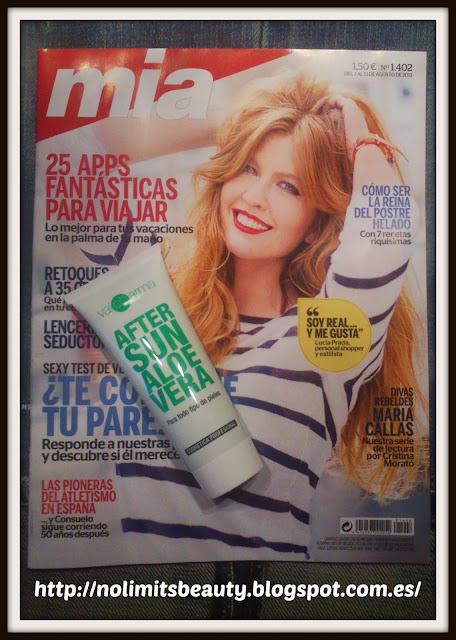 Revista Mía Agosto 2013 y su regalo