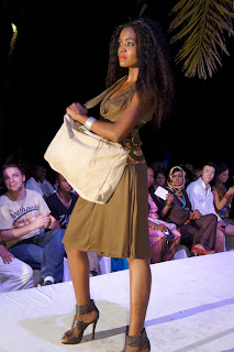 swahili fashion dress and bag