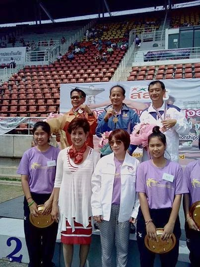 กรีฑาสูงอายุชิงชนะเลิศแห่งประเทศไทย ครั้งที่ 19