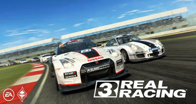 Top Racing games in Android Real Racing 3