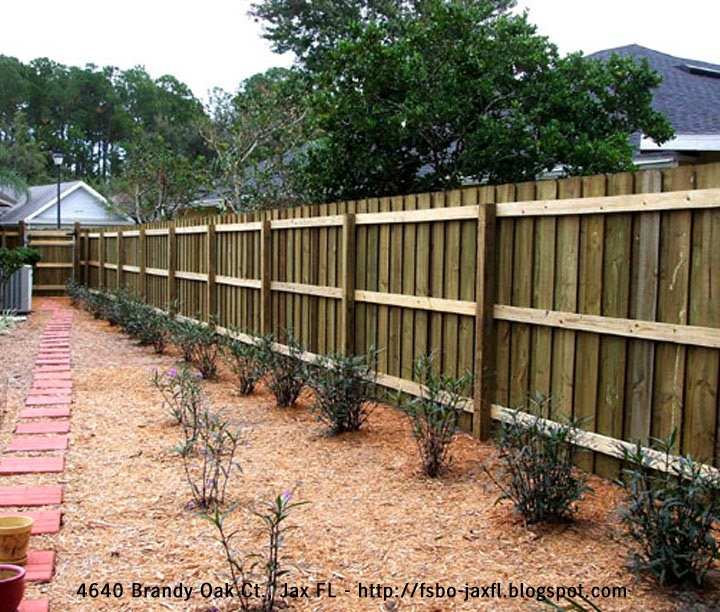 4640 Brandy Oak Court - Fence Installed by Duval Fence