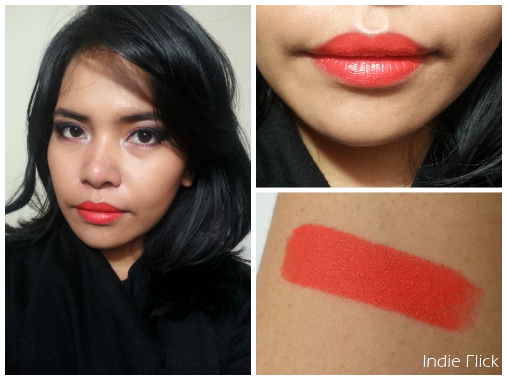 Nyx Lipstick Indie Flick Review #15: NYX Matte ...