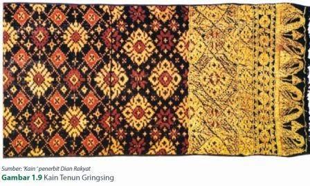 beragam tekstil yang sangat indah di seluruh daerah di Indonesia ...