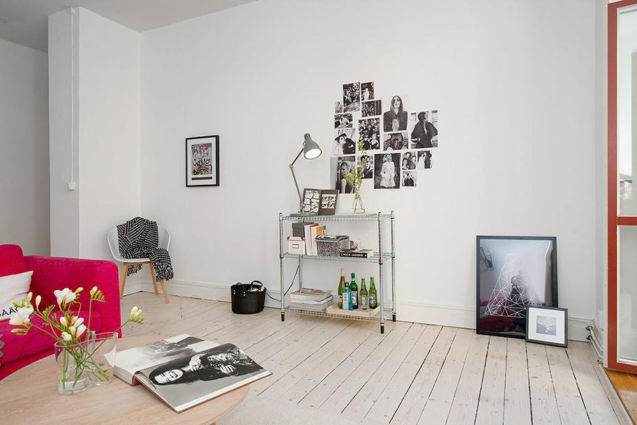 Apartamentos decoracion nordica for Habitaciones decoracion nordica