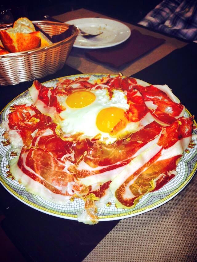Huevos a la Sevillana