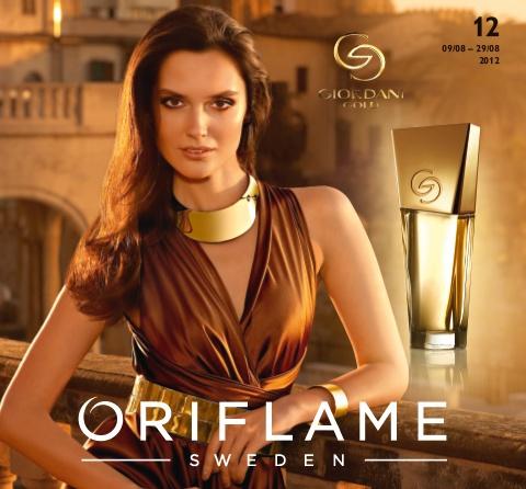 Catálogo 12 de 2012 da Oriflame