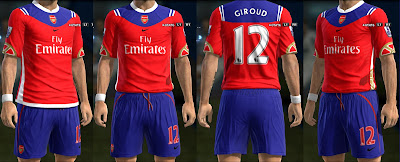 Fantasy Kits Arsenal PES 2013
