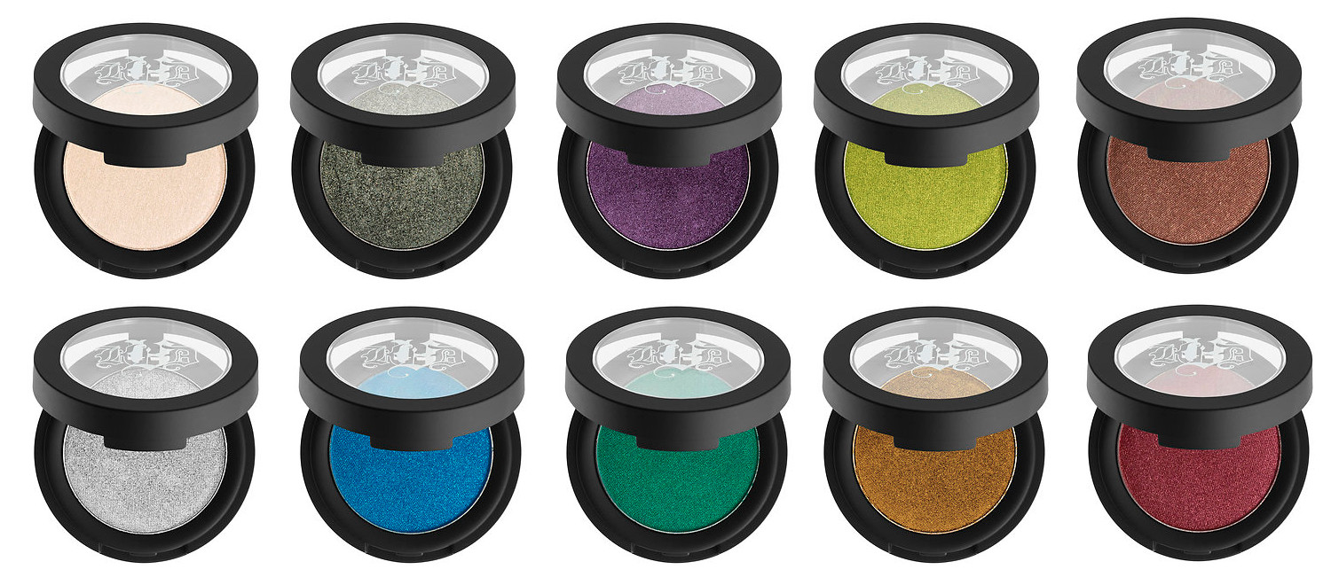 All shades of the Kat Von D Metal Crush Collection