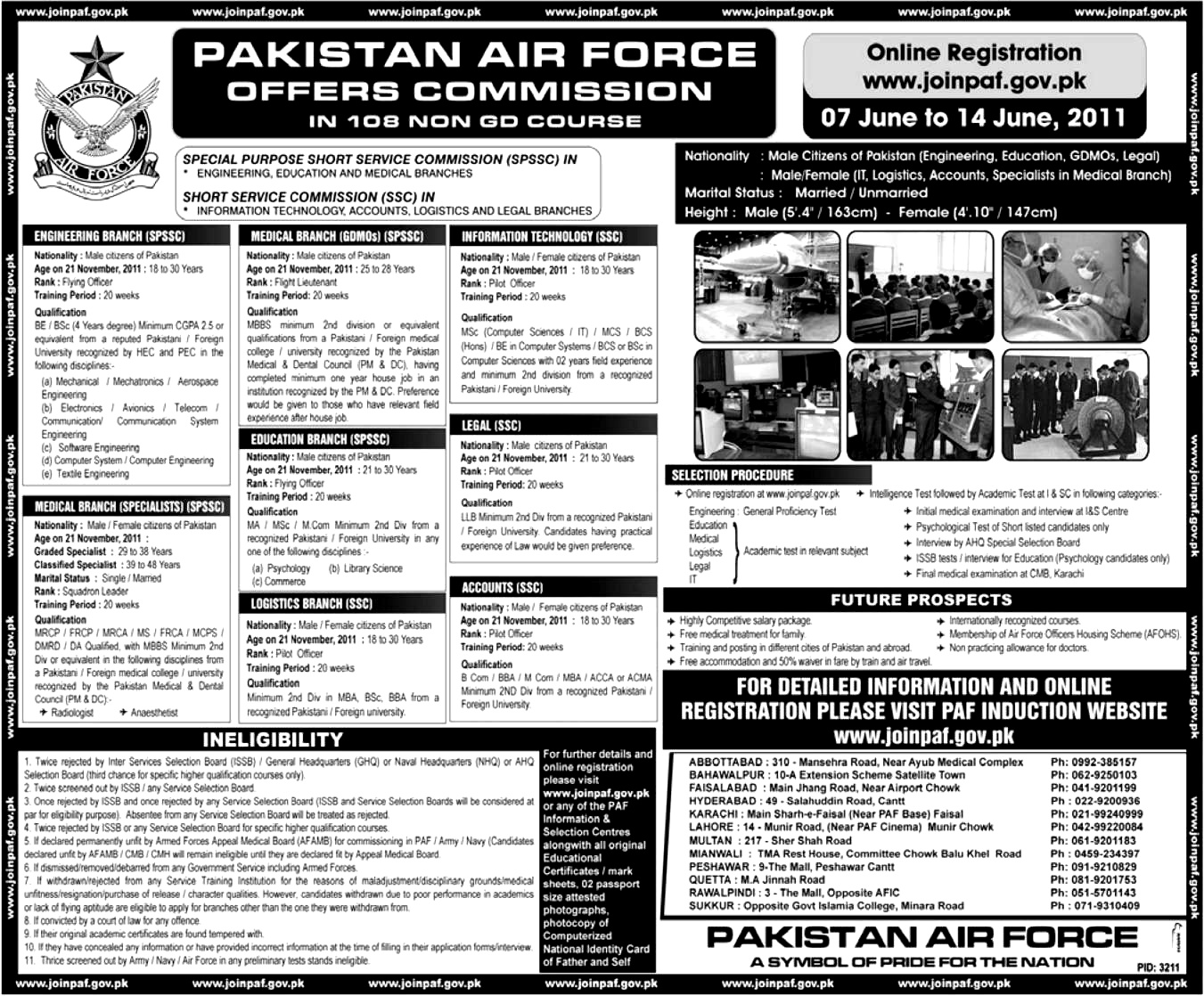 Pakistan Air Force 2014