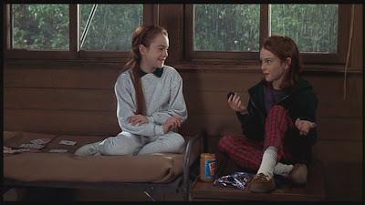 the parent trap, summer camp, hallie and annie, 1998, glitter daiquiri
